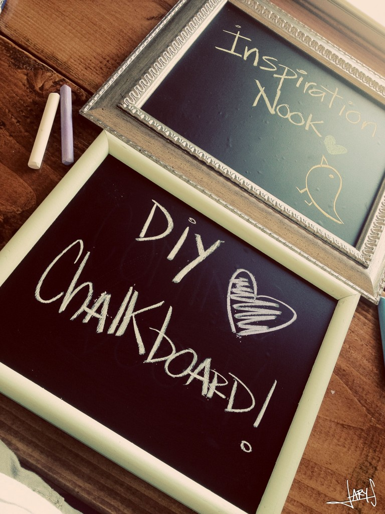 DIY Chalkboard Frame  YouTube
