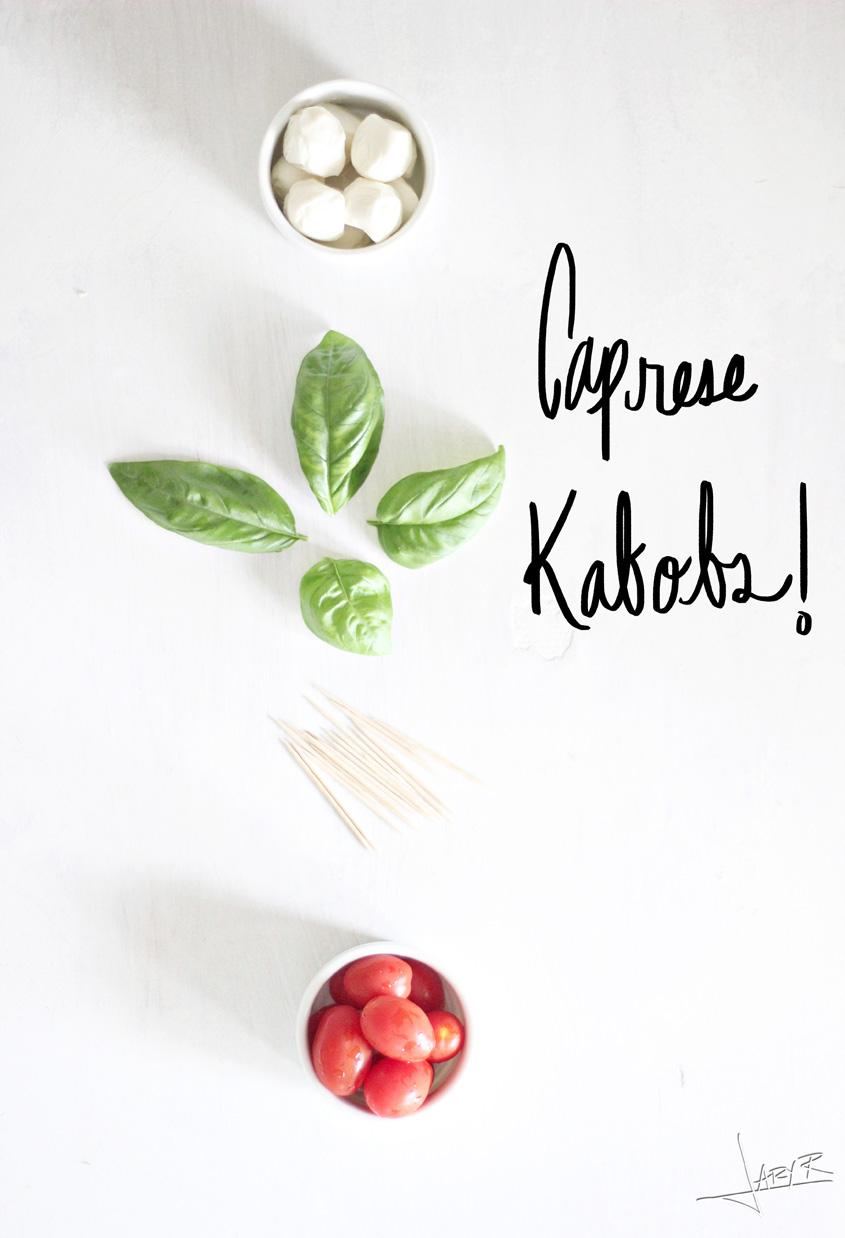 Caprese Kabobs