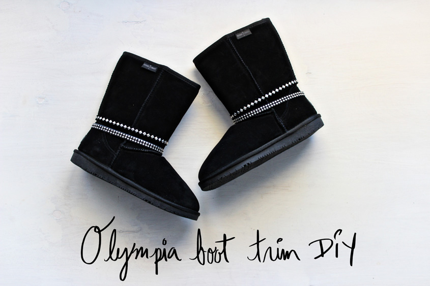 Olympia Boot DIY | Minnetonka | Inspiration Nook