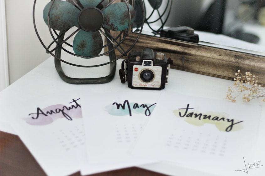 Free 2016 Calendar | Inspiration Nook