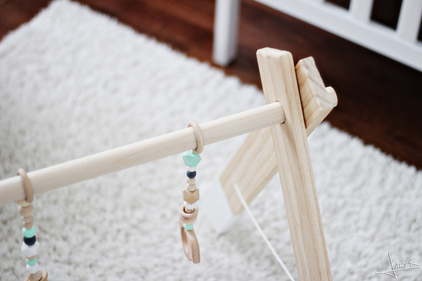 DIY Wooden Baby Gym | Inspiration Nook