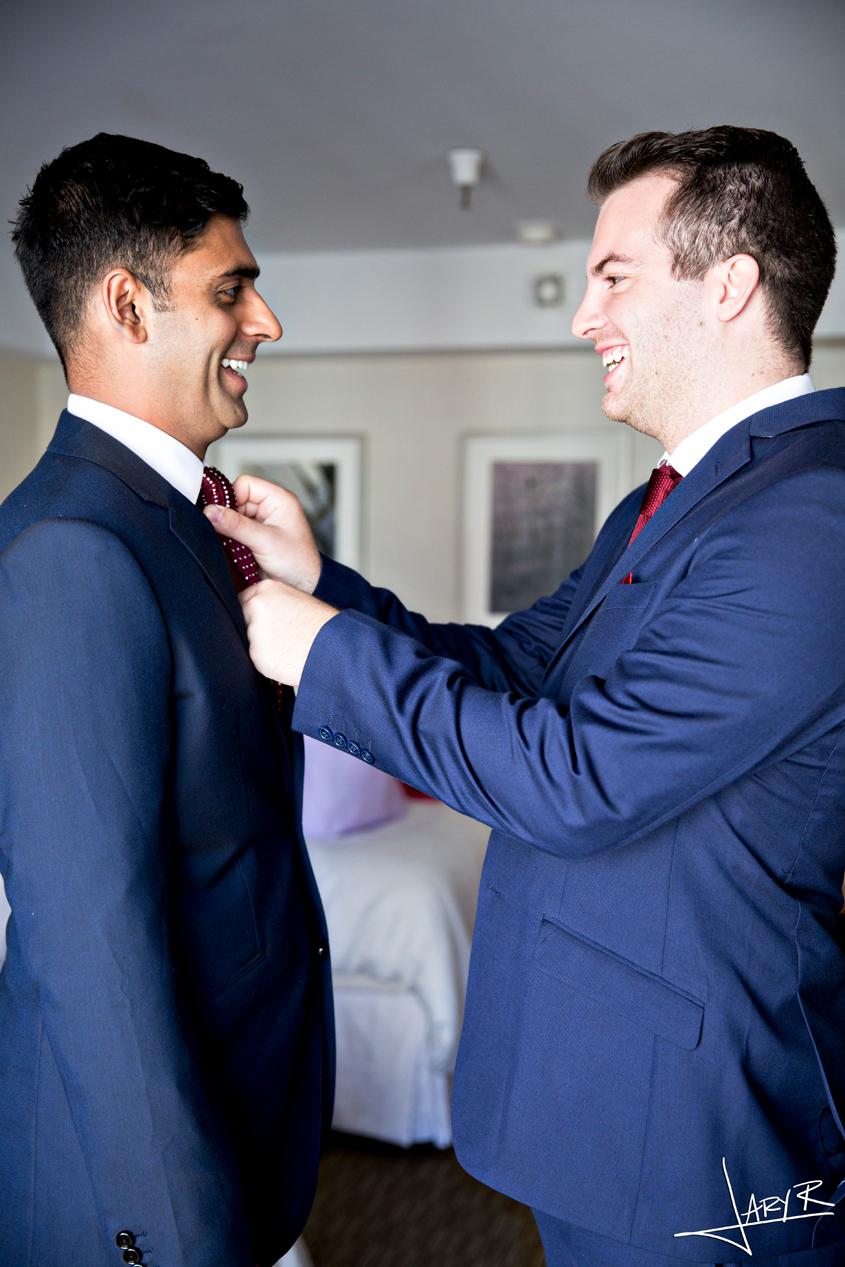 San Francisco Wedding - First Look