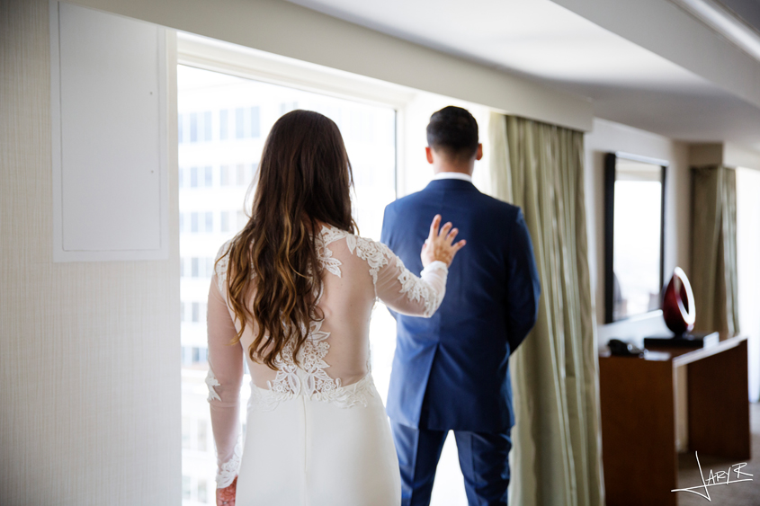San Francisco Wedding - First Look