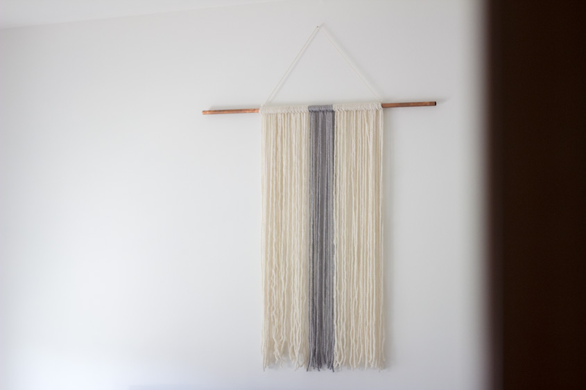 Yarn Wall Art DIY | Inspiration Nook